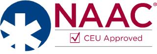NAAC CEU Approved logo | Texas EMS Conference | Austin, TX